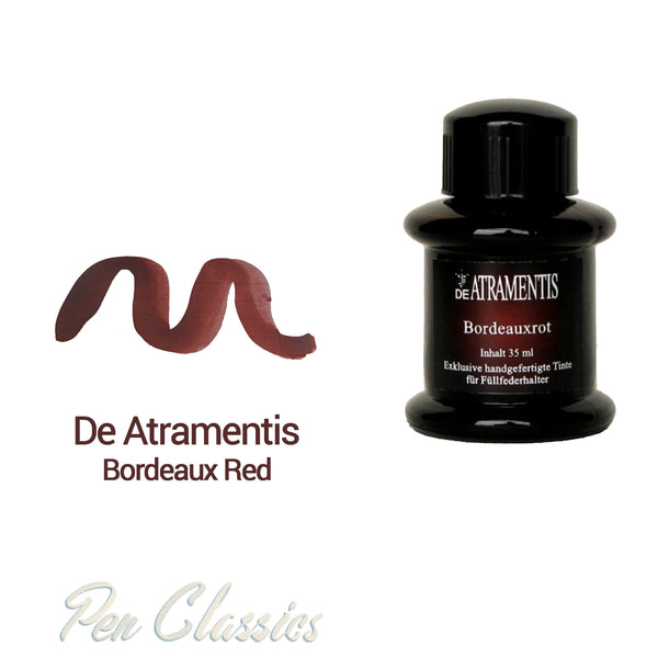 De Atramentis Bordeaux Red 35ml
