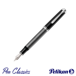 Pelikan Souverän M805 Fountain Pen Stresemann Anthracite Posted