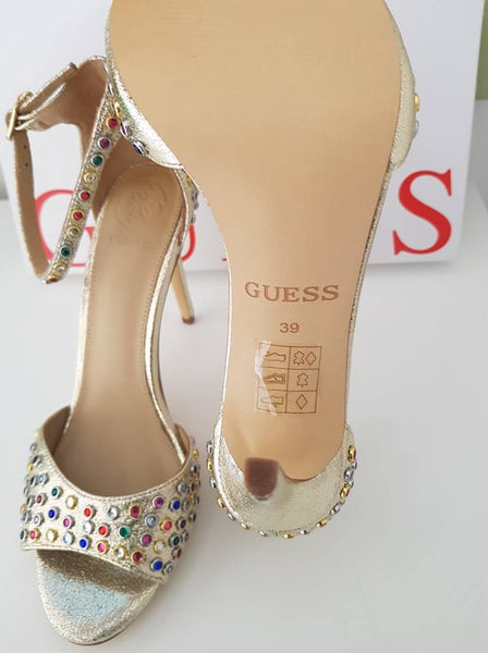 GUESS Rhinestone Sandals