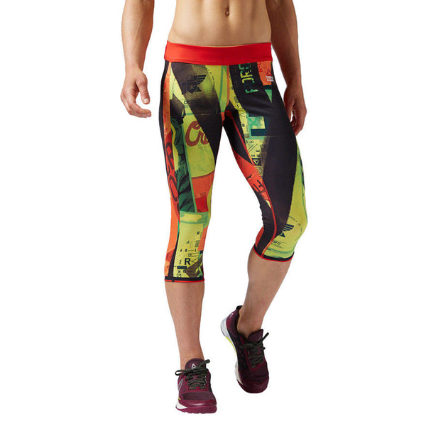 Reebok CrossFit Chase Reversible Training Leggings