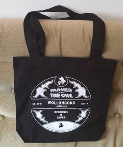 Record Label Tote Bag
