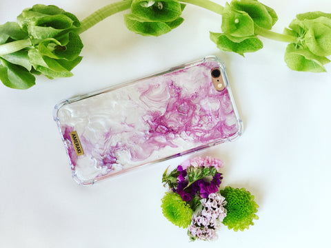 Funda Iphone Pïnk Marble
