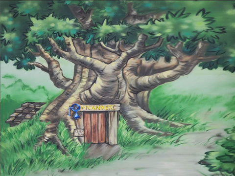 Kate Pooh's Corner Tree House Forest Backdrop designed by Jerry_Sina