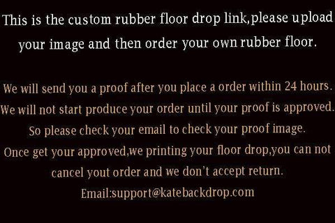Kate Custom Rubber Floor Mat Floor drop for Photography