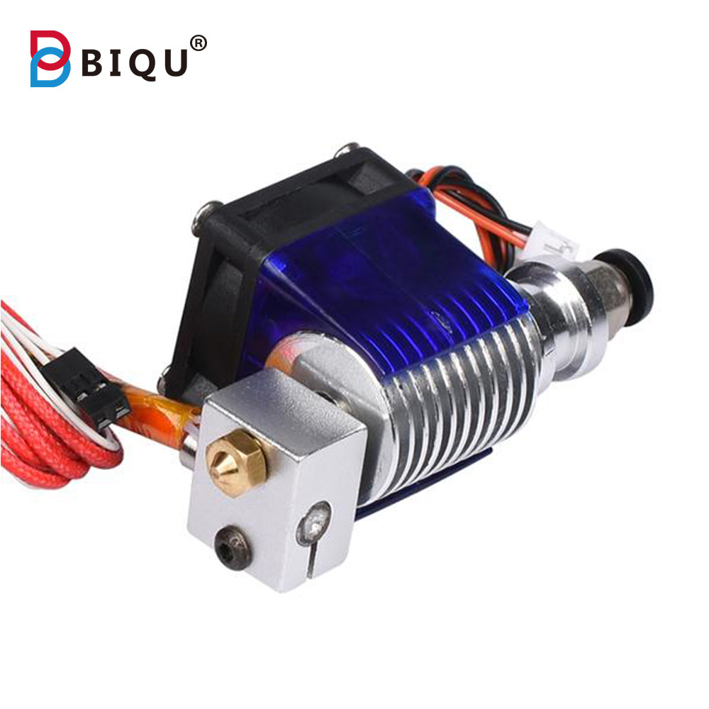 3D V6 3D Printer long distance J-head hotend Single Cooling Fan for 1.75mm/3.0mm Bowden Filament Wade Extruder 0.3/0.4/0.5mm Nozzle