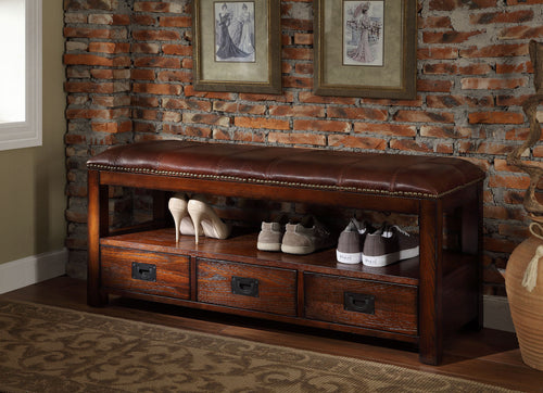 ENTRYWAY STORAGE BENCH -   - Magneta Brand
