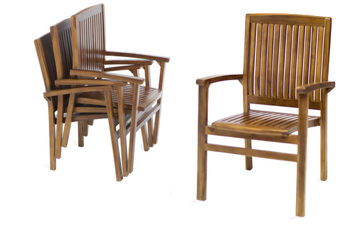 Stacking Chair -  Outdoor - Magneta Brand