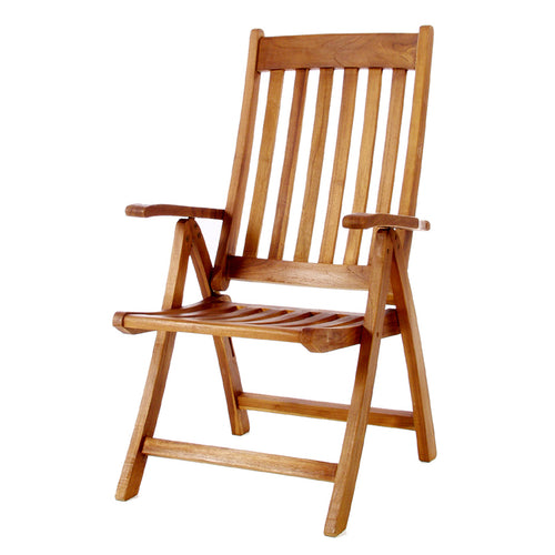 5 - Position Folding Arm Chair -  Outdoor - Magneta Brand