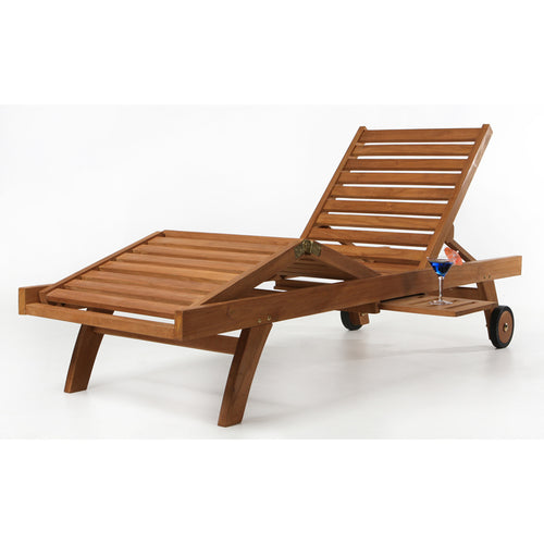 Mult-position Chaise Lounger. -  Outdoor - Magneta Brand