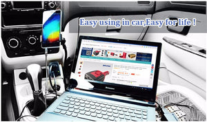 Laptop Charger Outlet in Car - 110V AC outlet for Chargers and all other equipment that only runs at home and not in Car -   - Magneta Brand