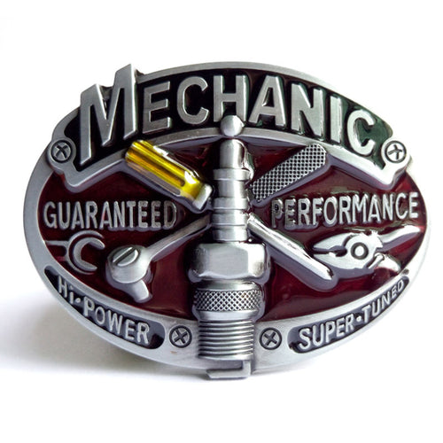 Mechanic Belt Buckle - Wear your Craft with Pride -   - Magneta Brand