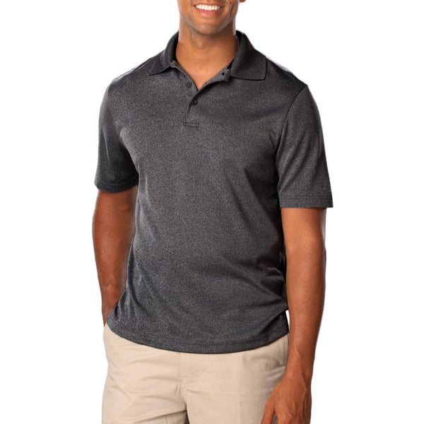 Blue Generation Men's Heather Polo