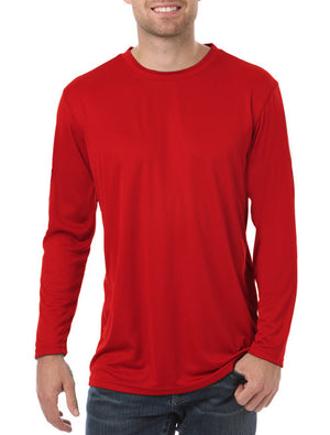 Blue Generation Long Sleeve Wicking Tee