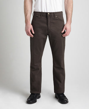 Grand River Lightweight Brown Stretch Twill Pant