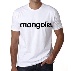 Mongolia Mens Short Sleeve Round Neck T-Shirt 00067