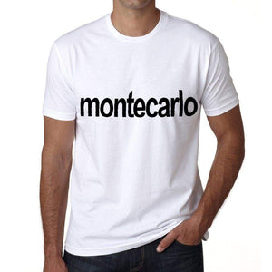 Monte Carlo Mens Short Sleeve Round Neck T-Shirt 00047