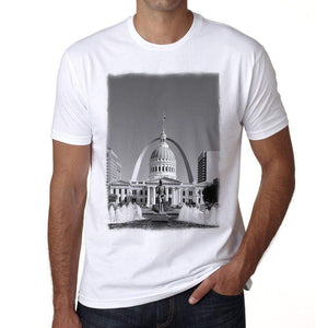 St. Louis 1 Mens Short Sleeve Round Neck T-Shirt