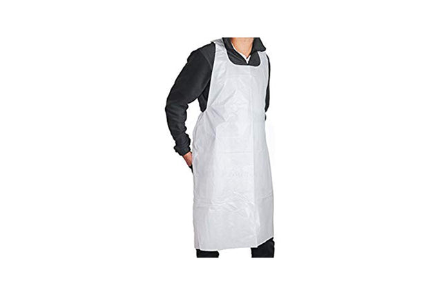 DISPOSABLE APRONS 700X1150MM PACKET 100 UNITS