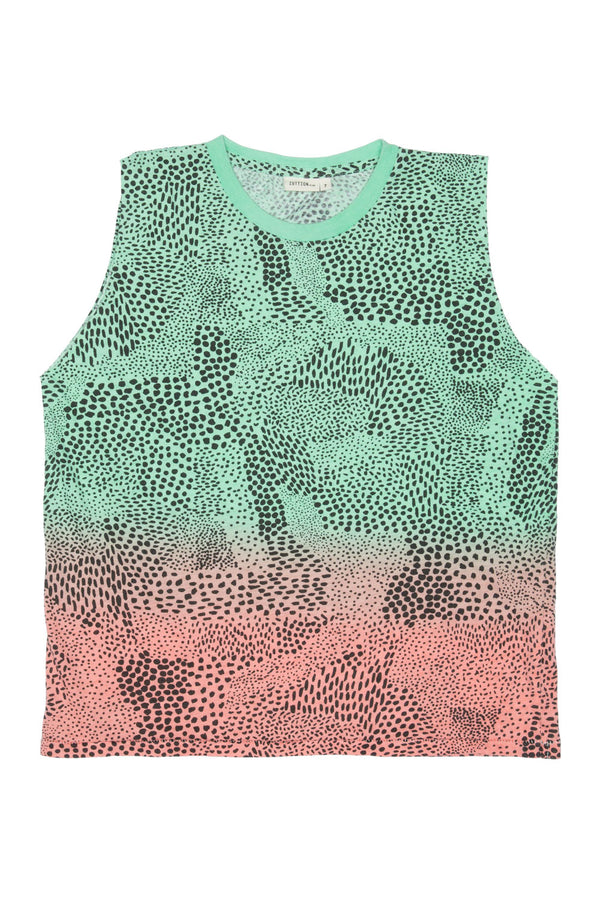 ABSTRACT TANK TOP RAINBOW - Zuttion