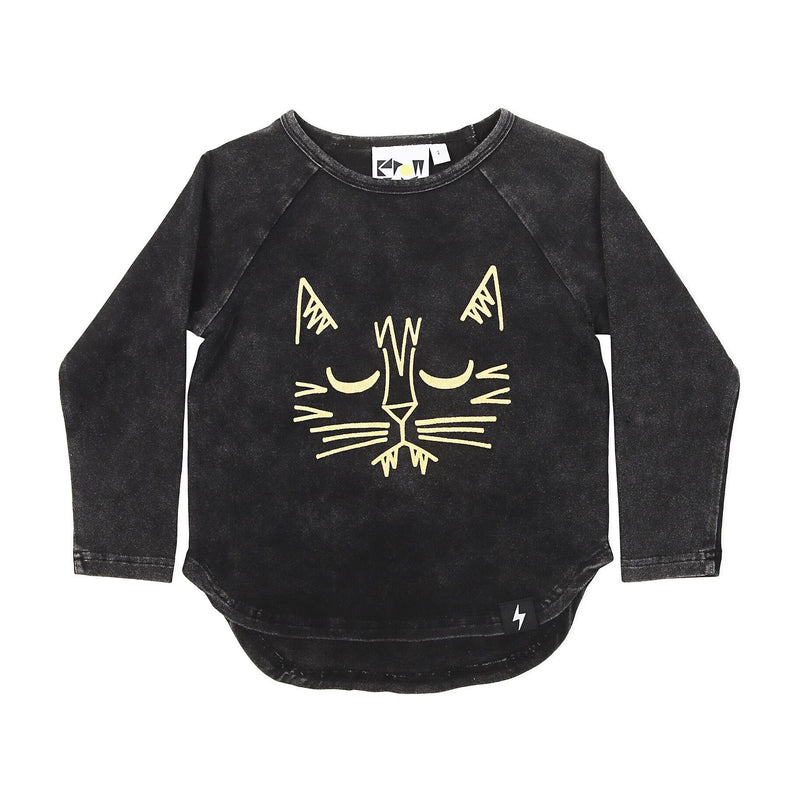 Tiger Placement Longsleeve Tshirt - Threads for Boys
