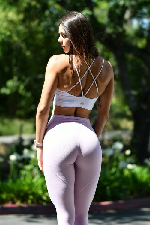 Resilient Heart Booty Capris- Lilac