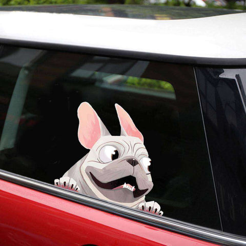 Image of Stickers 3D -  - Lovely bouledogue