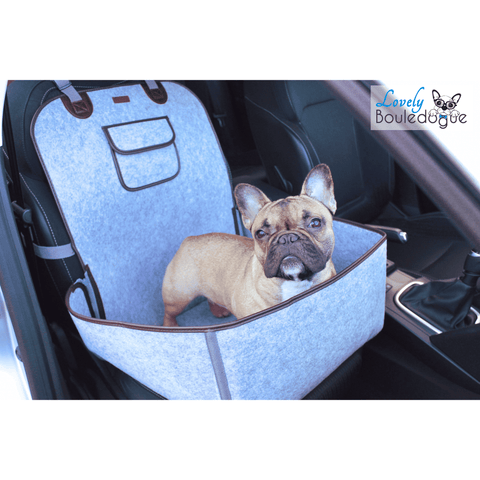 Housse de protection pour le transport - Gris - Lovely bouledogue
