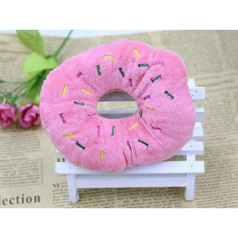 Image of Jouet Donuts à Mâcher - Rose - Lovely bouledogue