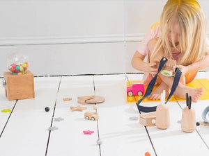 Get Creative with Wooden Toys