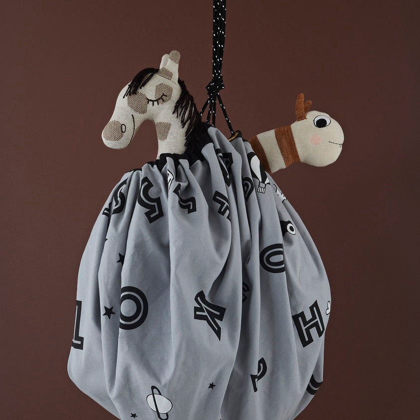 Alphabet Play Sack by OYOY Mini - minifili