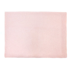 Bou Knitted Blanket Light Pink by Rose in April - minifili