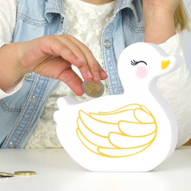 Duck Money Box by A Little Lovely Company - minifili