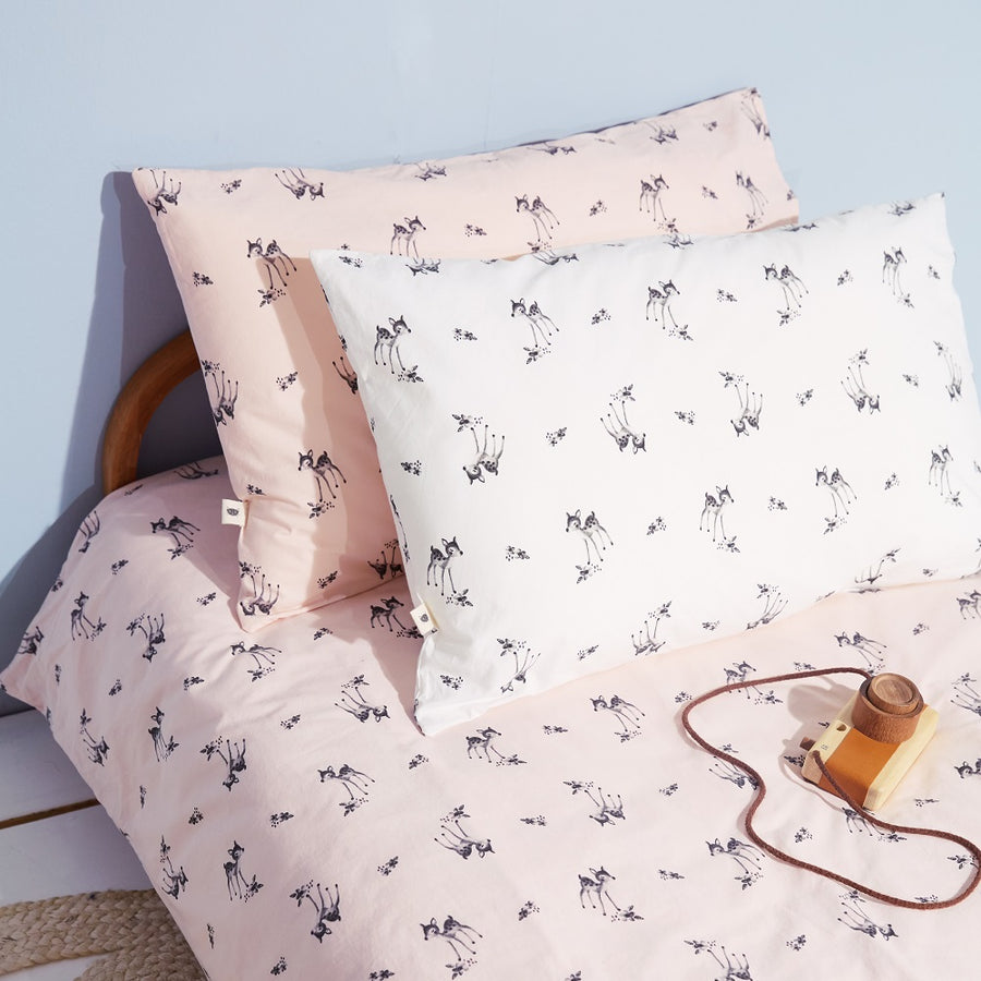 Fawn Bedding Set Pink by Rose in April - minifili