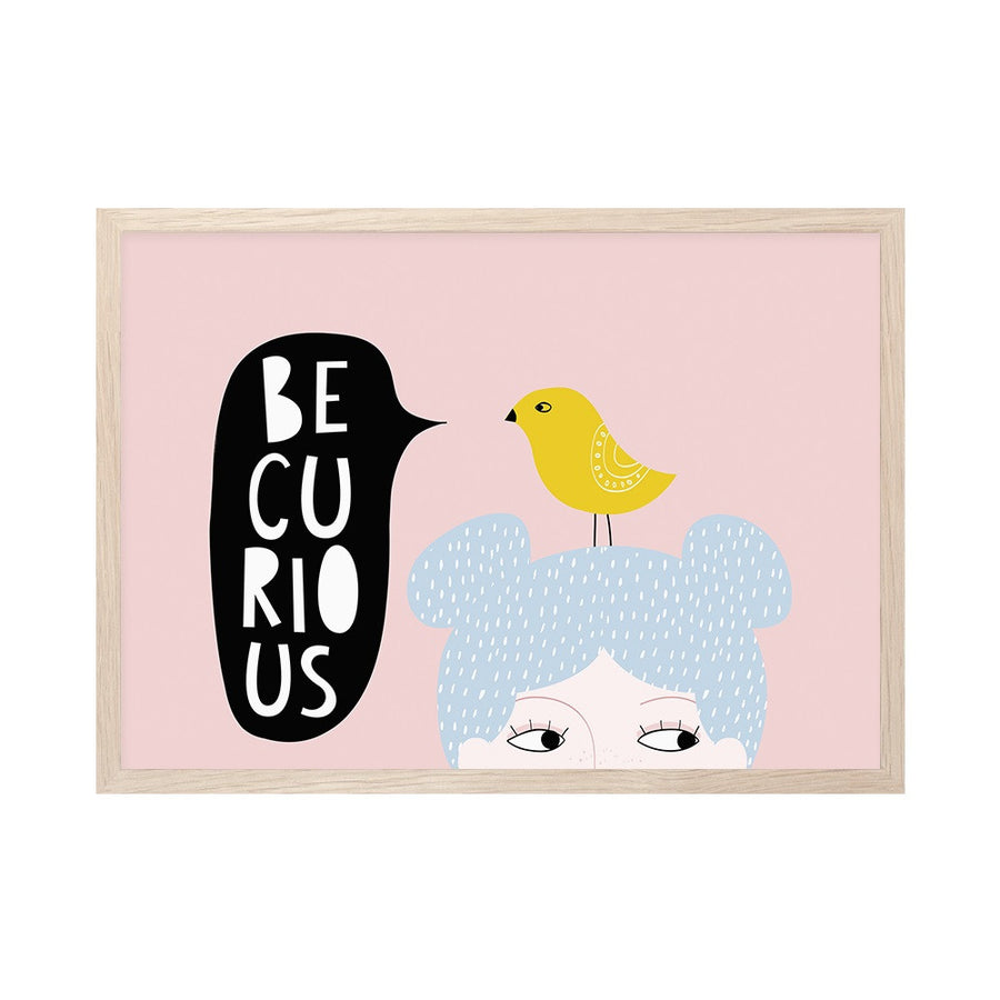 Be Curious Print by Mini Learners - minifili