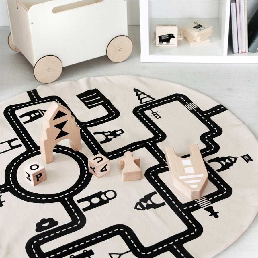 Little Village Play Mat by ooh noo - minifili