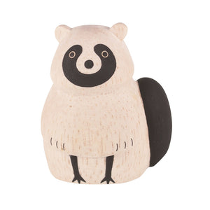Pole Pole Wooden Animal Raccoon by T-Lab - minifili