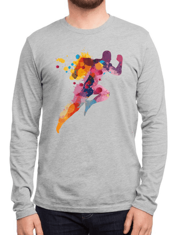 Aneeq Arshad T-shirt SMALL / Gray Colors Are Coming Full Sleeves T-shirt
