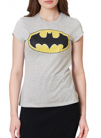 Game of Thrones T-SHIRT Bat Girl The Classic Gal Grey Half Sleeve Women T-Shirt