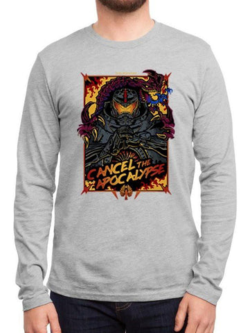 M Nidal Khan T-shirt SMALL / Gray Cancel the Apocalypse Full Sleeves T-shirt