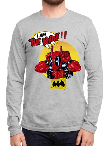 M Nidal Khan T-shirt SMALL / Gray Deadpool Full Sleeves T-shirt