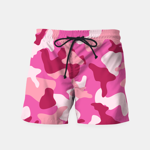 Maria Shorts Pink Camouflage Army Pattern Shorts