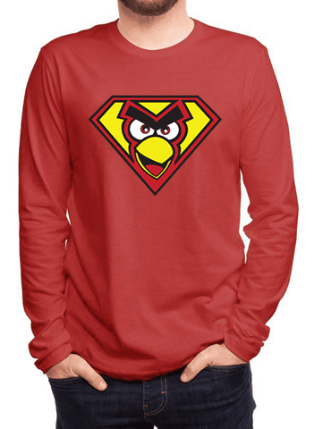 Virgin Teez T-shirt Angry Bird Full Sleeves T-shirt