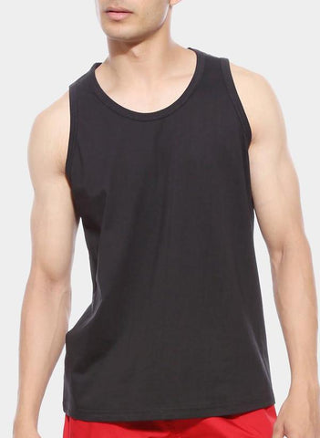 Virgin Teez T-SHIRT BLACK TANK TOP
