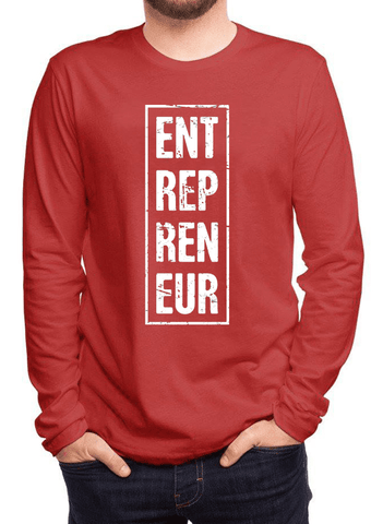 Virgin Teez T-shirt Entrepreneur Vertical Full Sleeves T-shirt