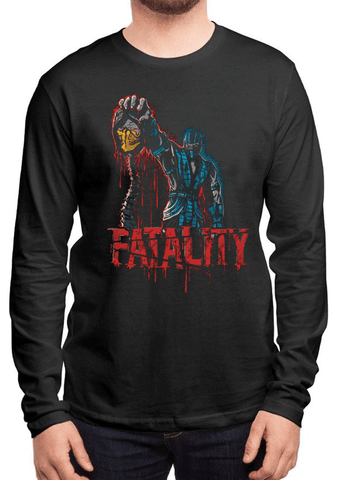 Virgin Teez T-shirt FATALITY Full Sleeves T-shirt