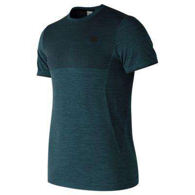 New Balance Men's M4M Seamless Short Sleeve - BlackToe Running Inc.