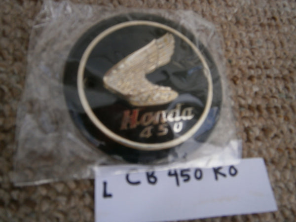 Honda CB450 CL450 1965-1968 New Gas Tank Badge Pair 5519