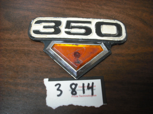 Honda CB350G Left Sidecover Badge 3814