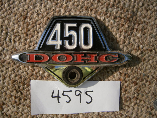 Honda CB450 CL450 Sidecover Badge 4595