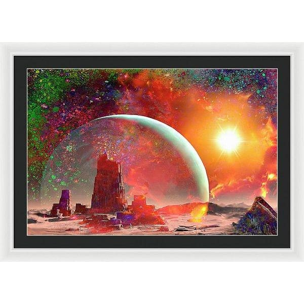 Abandoned Outpost - Framed Print by Don White - Art Dreamer